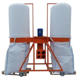 Fűrészpor és forgács elszívó rendszerek