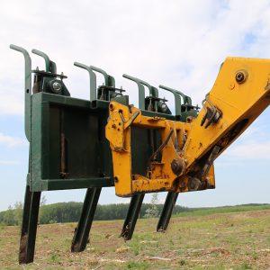 Erdőművelés és az erdőtelepítés gépei